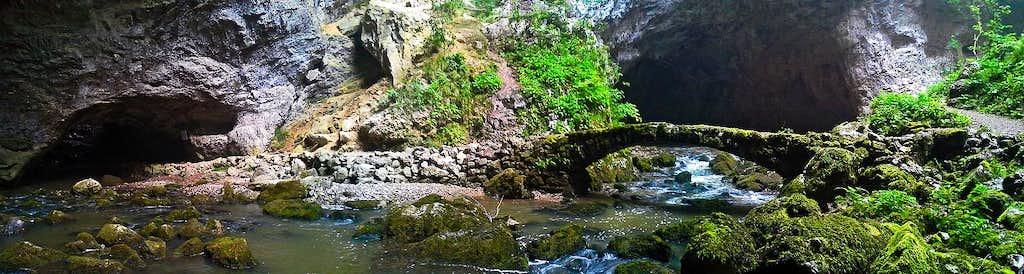 The small bridge in Zelske jame