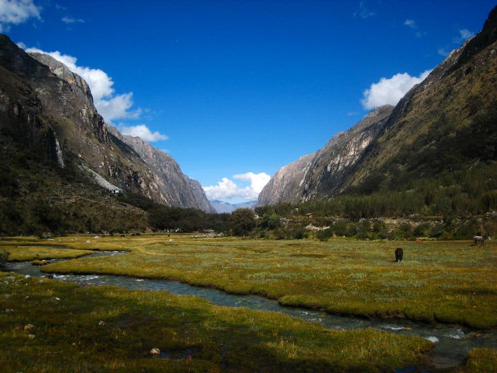 Llanganuco Valley