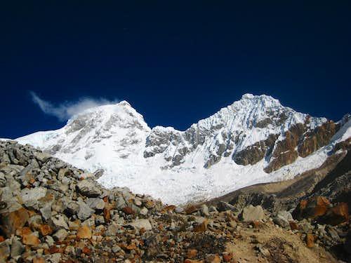 Huandoy Massif