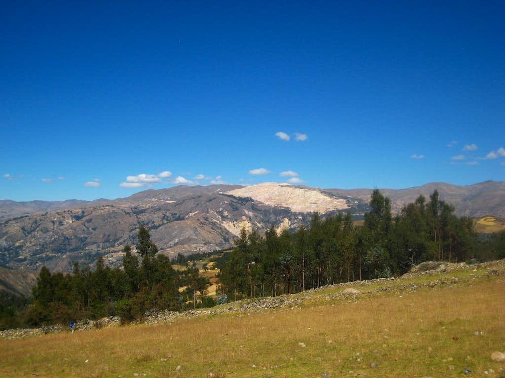 Gold Mine in the Cordillera Negra