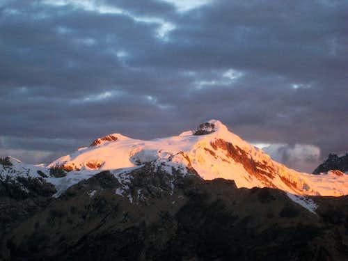 Ishinca Peak