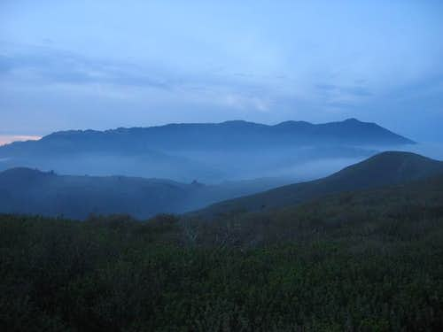 Mt. Tam in the gloaming from...