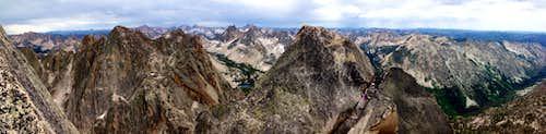 Warbonnet Peak Summit Panorama