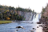 High Falls on the Baptism River