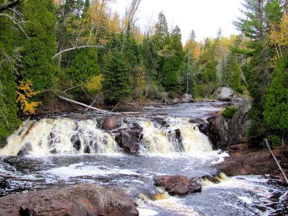 Two-Step Falls-Baptism River