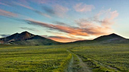 White Mountain Peak Dawn