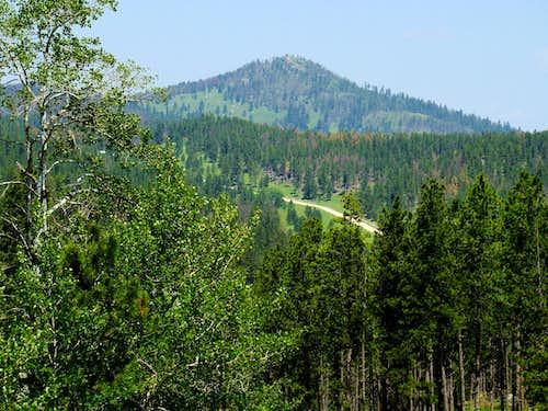 Medicine Mountain from FSR297