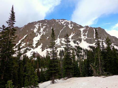 Eagles Nest northwest face