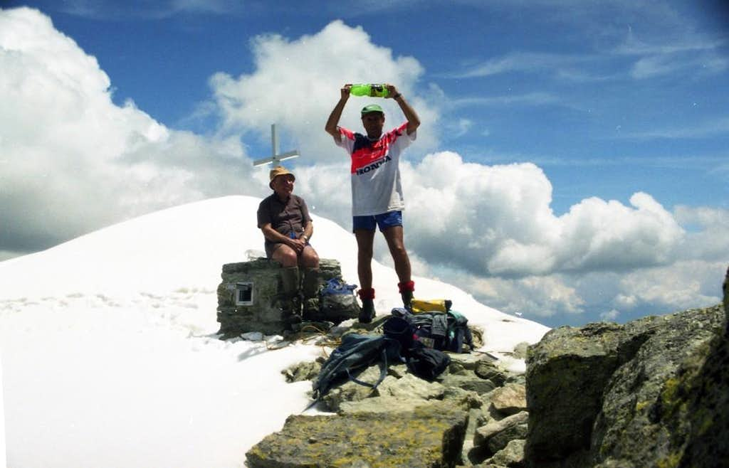 CERVINO or MATTERHORN Mont Faroma Summit 1999