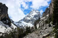 Middle Teton Three Days in June 2014
