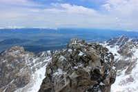 Second summit of the Middle Teton