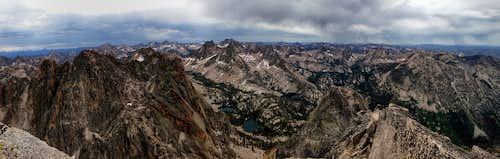 Stormy Summit Panorama