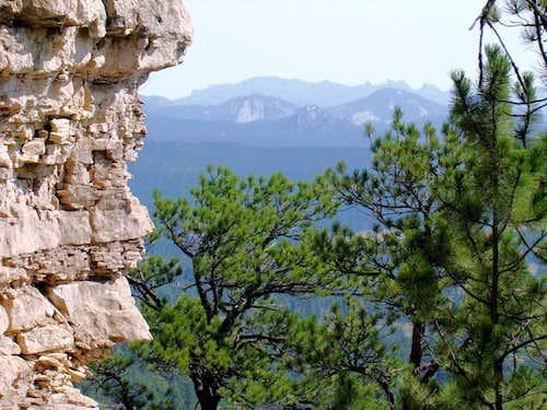 South Sister view of Black Elk Peak