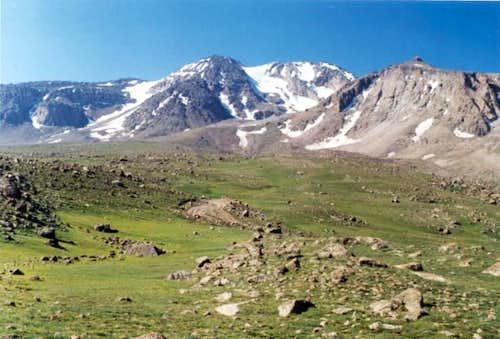 Northern face of Sabalaan ,...