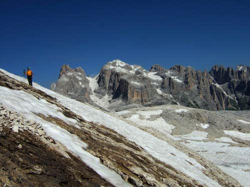 Pale di San Martino northern chain