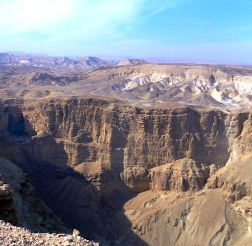 Judeaen Desert. Route N2