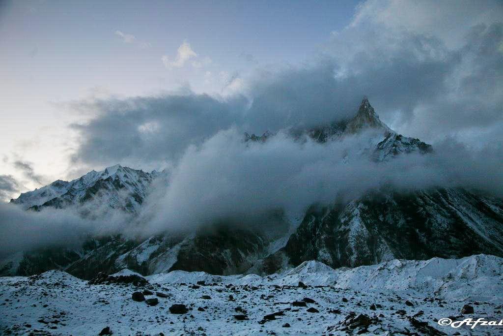 Mitre Peak (6025 m), Karakoram Range, Pakistan