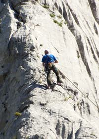 The Climber without boots