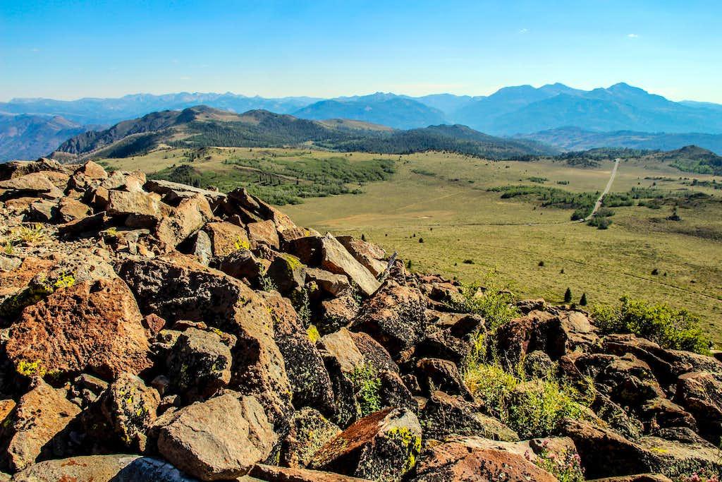 Leviathan Peak south view