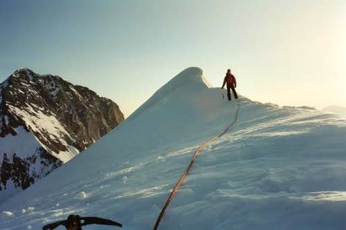Me on the South Eigerjoch...