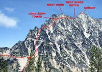 Mount Stuart, West Ridge Route