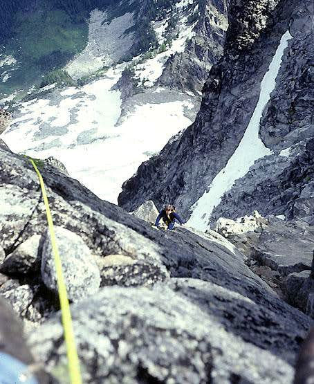West Ridge, Mount Stuart