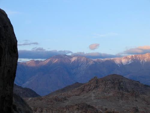 Mt Inyo in the late afternoon...