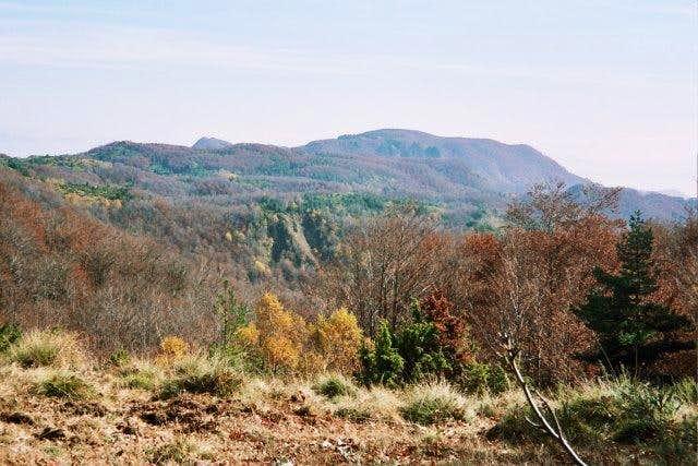 The view of peak Koula 1607m...