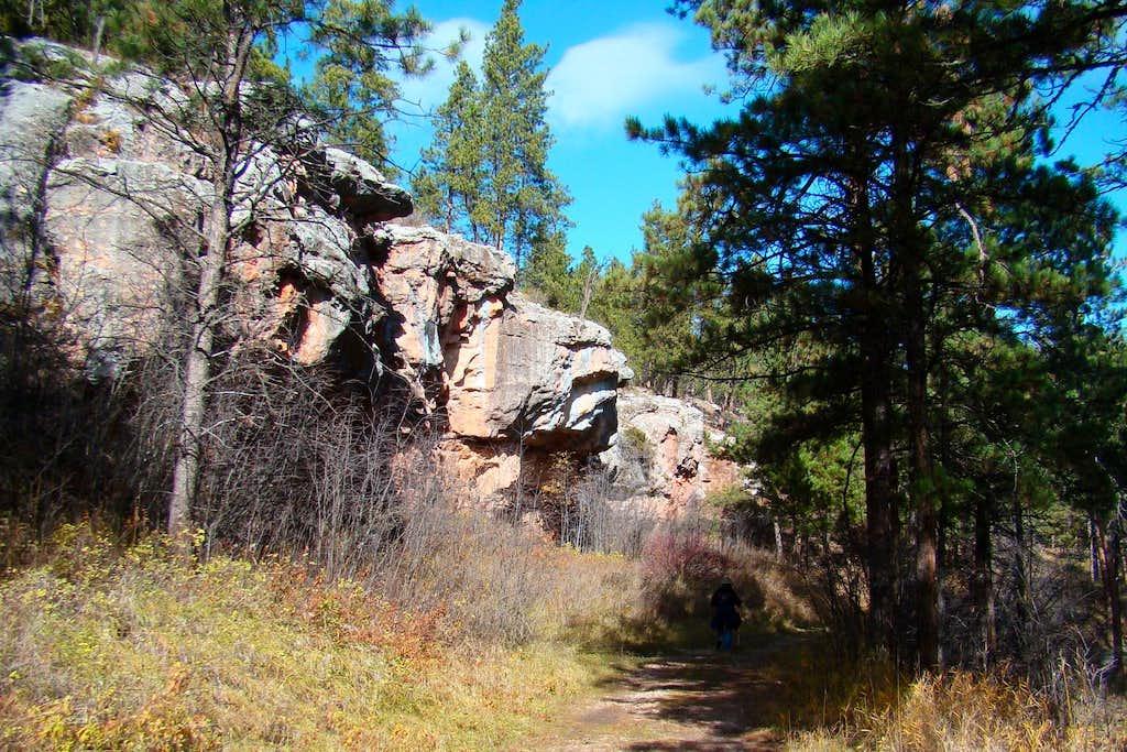 Lithograph Canyon