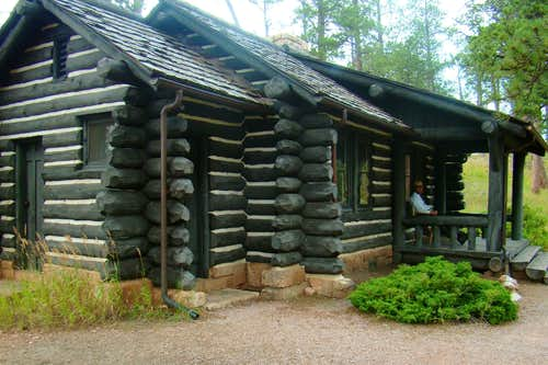 Jewel Cave Ranger Cabin