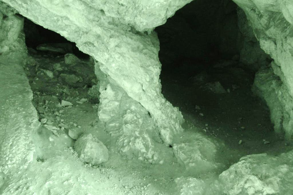 Dark Cave Infrared View