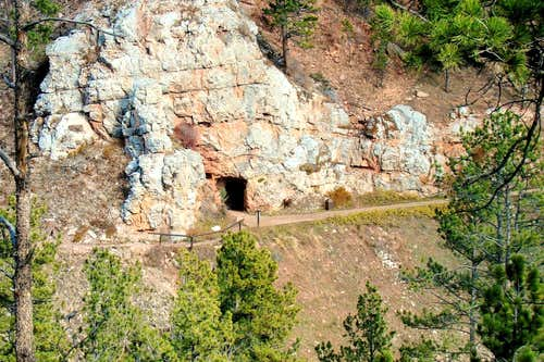 Old Entrance to Jewel Cave