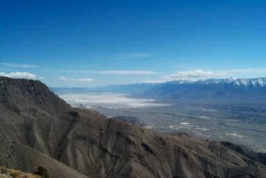 Owens Valley and Lake as seen...