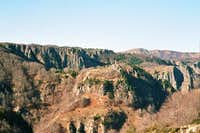 The Granite rocky east slopes...