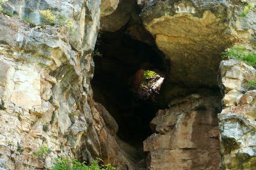 Short Open Cave