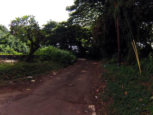 Waikane Valley Road