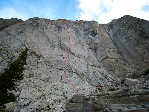 Linea Alba Route Topo