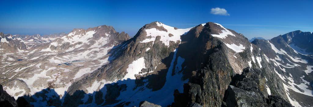Villard Spires HP summit view