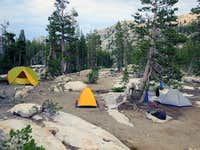 Huckleberry campsite