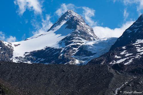Fletschhorn(13100 ft / 3993 m; SW-Face)