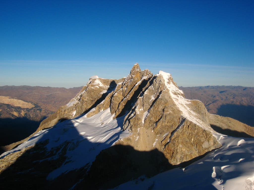 Urus summit view west