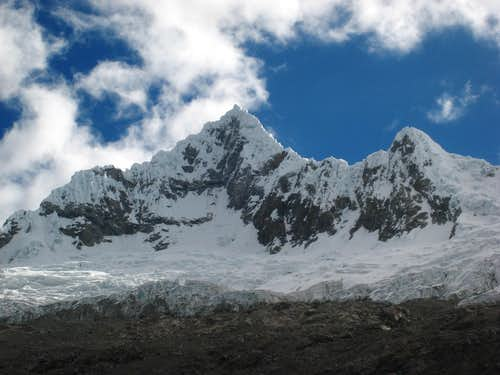 Alpamayo from base camp