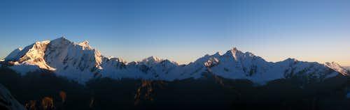 Copa panorama from Urus