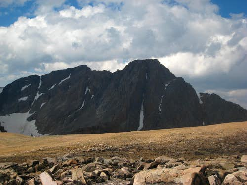 Granite Peak from Cairn Mountain