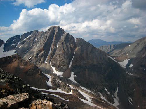 Granite Peak from Cairn Mountain