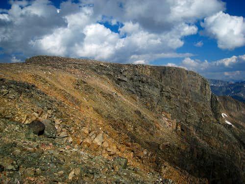 Cairn Mountain summit plateau