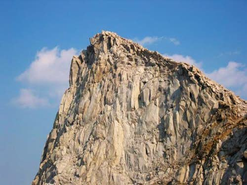 A closer view of the Sawtooth...