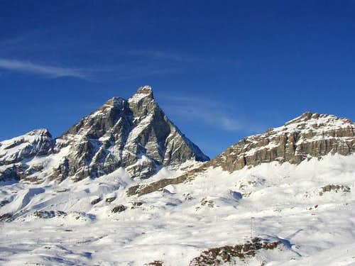 Matterhorn and Furggen taken...