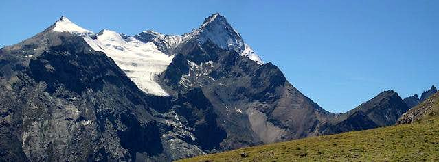 Gran Paradiso GROUP: the Grivola Subgroup  seen from Pian Bessey