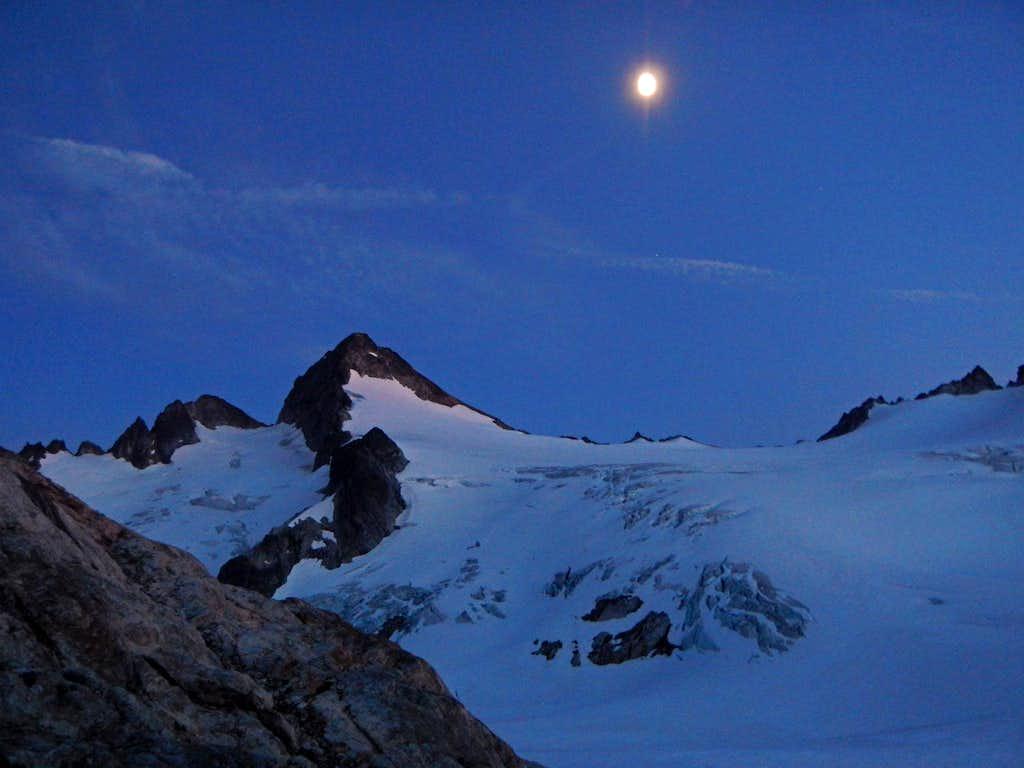 Snowfield At Night